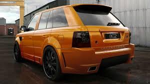 orange range rover sport concept802 range rover sport platinum s wide body kit new images