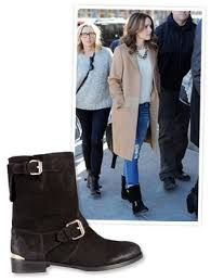 fashion motorcycle boots found it rachel mcadams cozy motorcycle boots instyle com