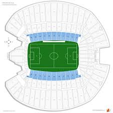Centurylink Field Map Centurylink Field Soccer Seating Guide Rateyourseats Com