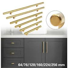 modern stainless steel kitchen cabinet pulls stainless steel t bar modern kitchen cabinet door handles drawer pulls knobs lot ebay