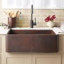Luxury Copper Kitchen Farmhouse Sinks Native Trails - Copper sink kitchen