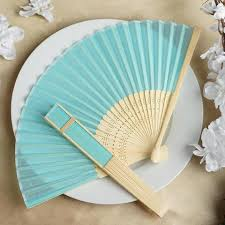 wholesale fans wholesale silk folding wedding party favor fans table top
