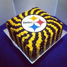 pittsburgh steelers cake let them eat cake pinterest