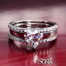 Heart Shaped Wedding Rings by Luxurious Jewelry 2carat Nscd Diamond Heart Shaped Cut Engagement