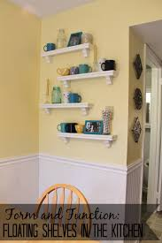 Kitchen Floating Shelves by Floating Shelves Oh The Fun U2026