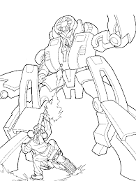 pictures transformers color coloring