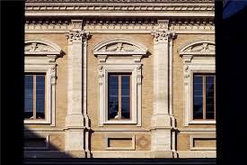 cortile palazzo farnese cour intérieure ou cortile la en italie