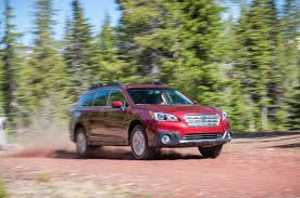 subaru outback green 2015 subaru outback first drive motor trend