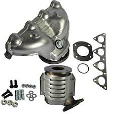 2000 honda civic exhaust manifold exhaust manifold with integrated catalytic converter for 1996 2000