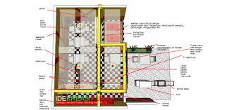 layout denah cafe merubah fasad dan interior cafe menjadi trendi dan energik ide