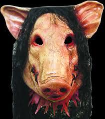 Saw Mask Halloween Masks Saw Pig Mask