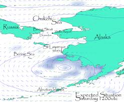 Map Of Russia And Alaska by Blog Archive Bering Strait Crossing Forecast 20 August Day 15