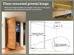 Installing Interior Door Hinges Floor Mount Pivot Hinge