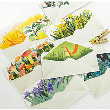 30 pcs pack creative letter from the island greeting card postcard