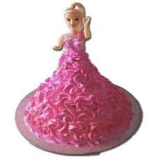 doll cake pink doll cake ecakezone