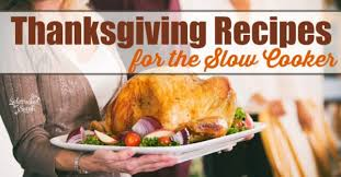 cooker recipes for thanksgiving day sidetracked