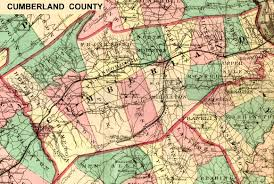 Pa County Map Cumberland County Pennsylvania Maps And Gazetteers