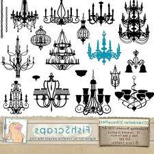 Chandelier Photoshop Brushes Chandelier Silhouette Clip Art U2013 照亮人生