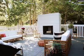Fake Outdoor Fireplace - best diy outdoor fireplace ideas u2014 jen u0026 joes design