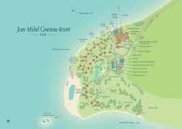 Map Of Fiji Jean Michel Cousteau Resort Map Fijiresort