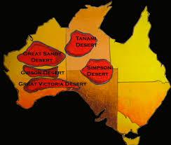 Desert Map Great Sandy Desert Wikipedia Great Sandy Desert Australia