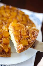pineapple upside down cake chez cateylou