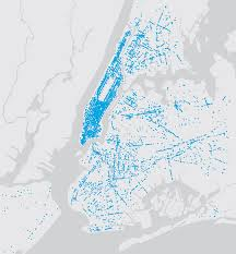 New York Area Code Map by Linknyc