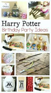 harry potter birthday party ideas buggy and buddy