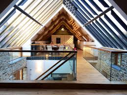 barn conversions bespoke staircase barn conversion cornwall contemporary hall