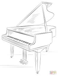 dulemba coloring page tuesday piano playing tiger note inside