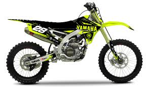 yamaha motocross gear yamaha u0027neon u0027 kit rival ink design co custom motocross graphics