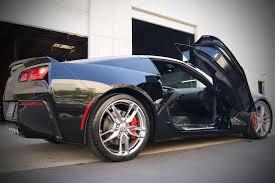 2014 corvette mods corvette doors yup we put the doors up and bottoms on