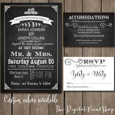 reception invitations rustic chic wedding reception invitation chalkboard printable