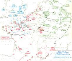 D Day Map Hyperwar The War In Western Europe Part 1 June To December 1944