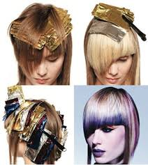 where to place foils in hair color technique pinwheel with color melting hair cutting and