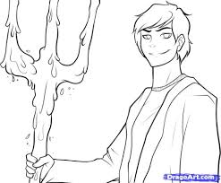 the lightning thief coloring pages percy jackson drawings in percy