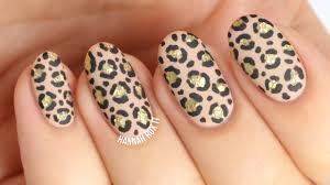 matte glitter cheetah leopard nails youtube