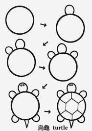 draw turtle circle u2026 pinteres u2026