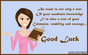 luck messages for exams best wishes for tests