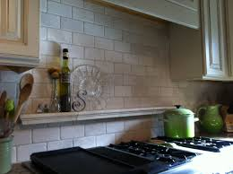 tile shelf behind stove for the home pinterest stove