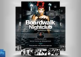 psd club flyer template techno party free psd flyer template