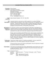 exles of lpn resumes licensed practical resume template exless cv exle lpn