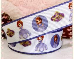 sofia the ribbon princess sofia ponytail streamer sofia the ribbon