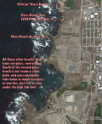Fort Bragg Map Photo Of Glass Beach Fort Bragg Ca United States I Made A Map
