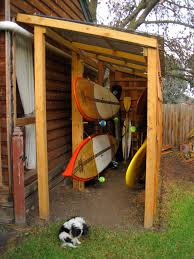 kayak storage saw this on a paddling forum years ago and have