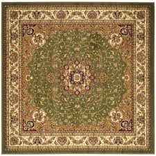 7 Foot Round Area Rugs by Safavieh Lyndhurst Black Ivory 7 Ft X 7 Ft Round Area Rug