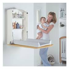 Wall Mounted Changing Table For Home Wall Changing Unit And Desk In Wood Home Pinterest Komodo