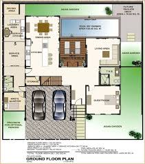 Extraordinary Modern House Design With Floor Plan In The