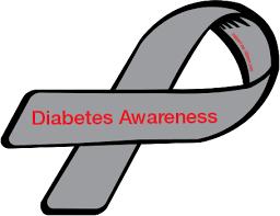 diabetes ribbon color 1 diabetes ribbon color