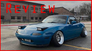 mazda miata stance stanced 1990 mazda miata review youtube